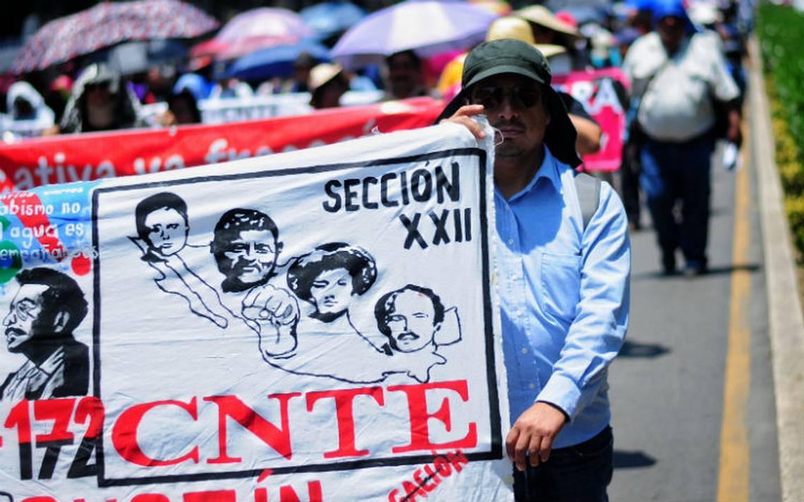 CNTE se va a paro de labores indefinido en Oaxaca