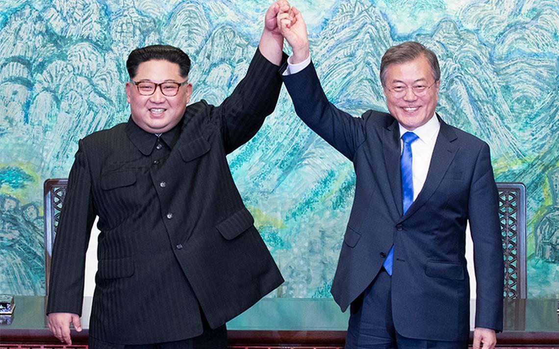 Acuerdan las dos Coreas desnuclearizaciA?n y la paz permanente
