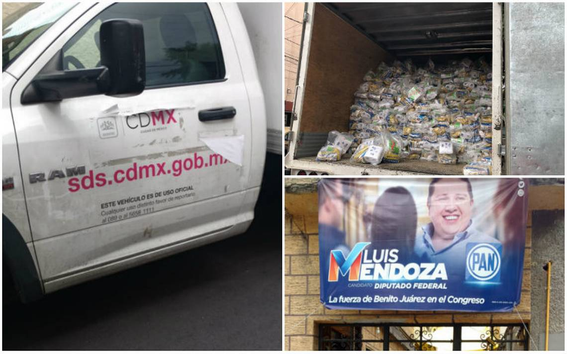 Denuncian entrega de despensas a cambio de votos en la Benito Juárez