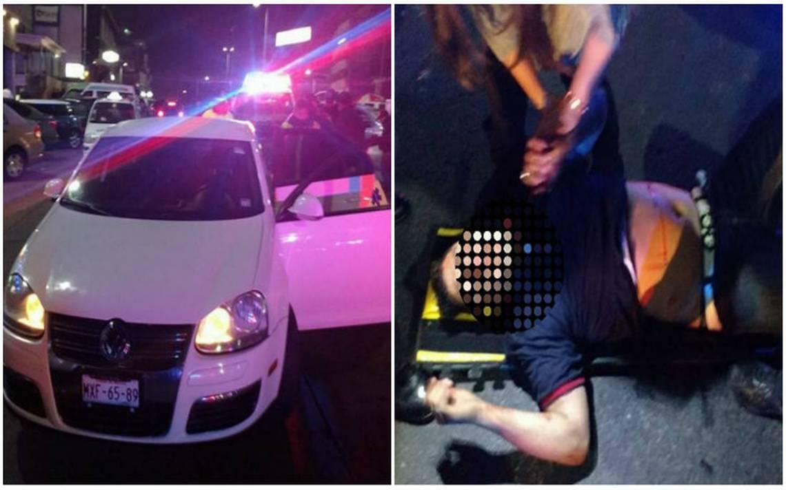 Balacera en Satélite deja tres heridos y cuatro detenidos