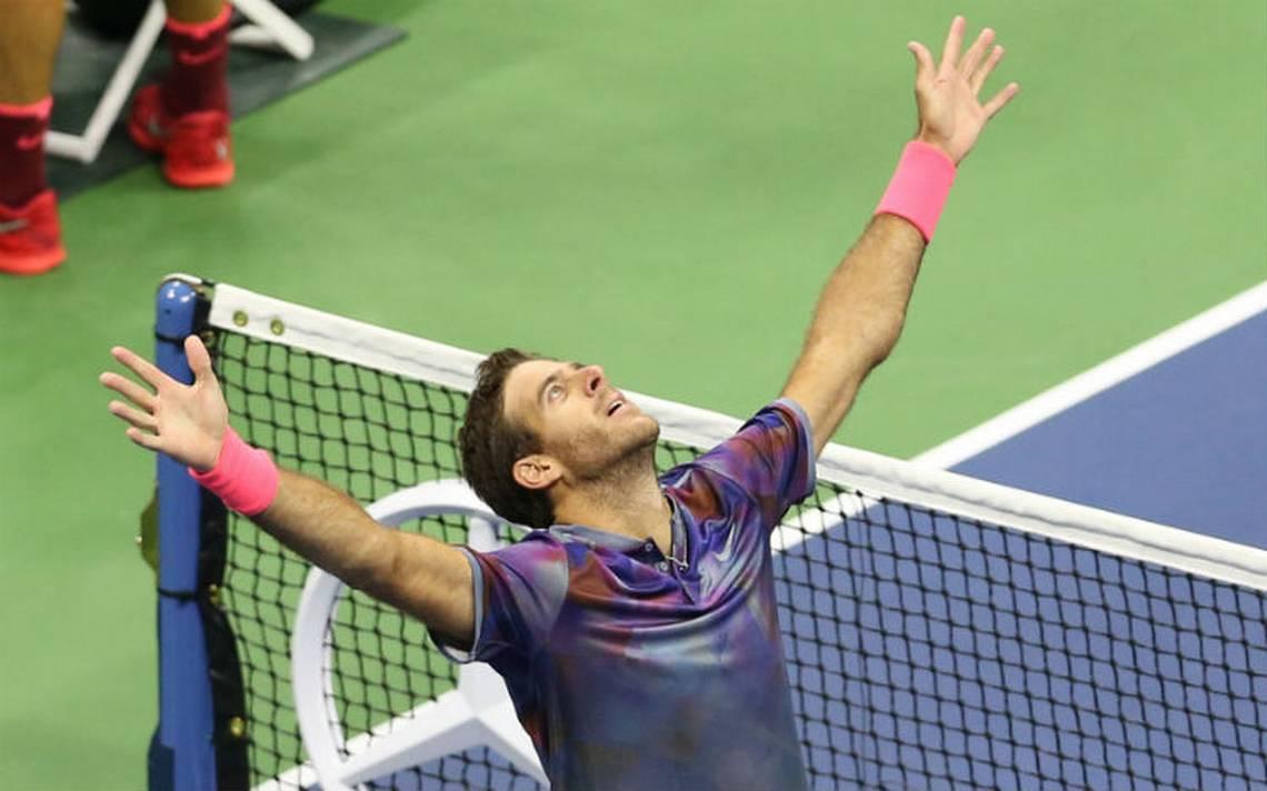 Del Potro vence a Federer y avanza a semifinal del Abierto de EU