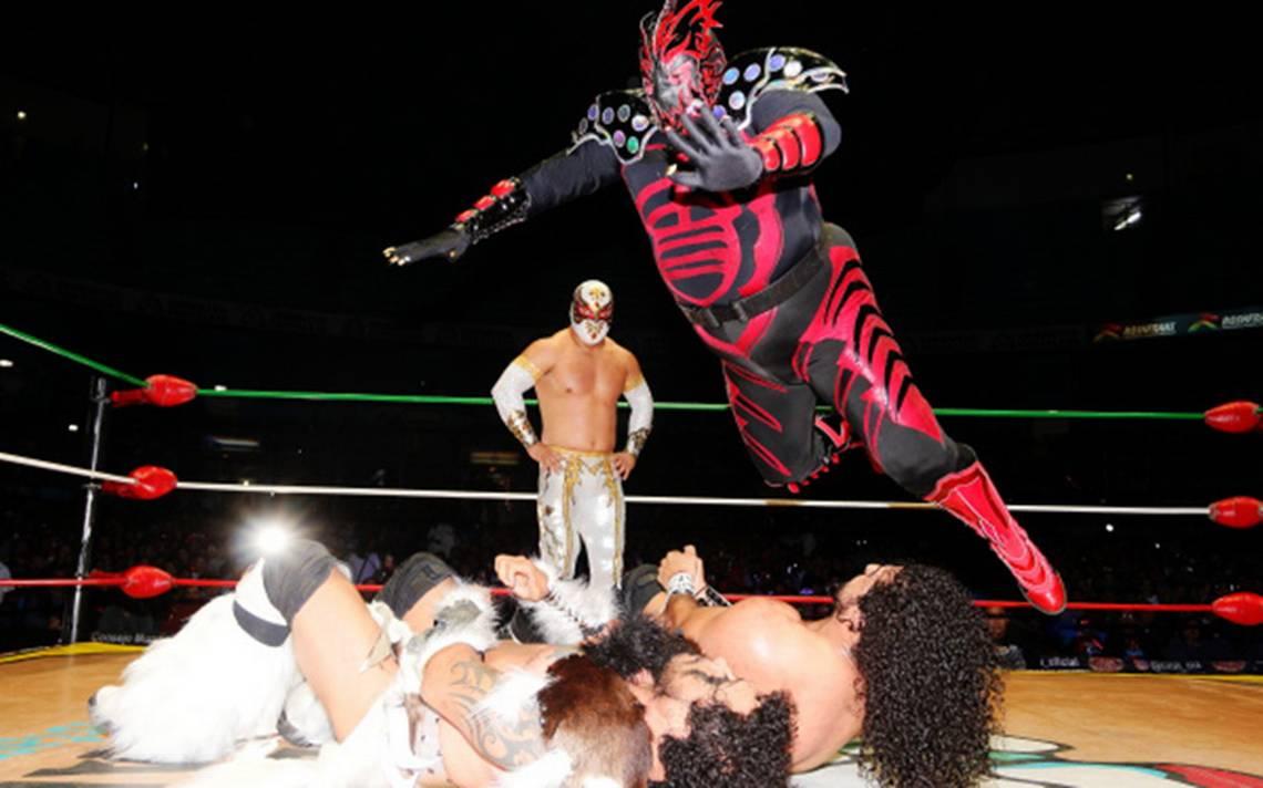 Ingobernables Rush y La Bestia del Ring con Kráneo esta noche en la Arena México