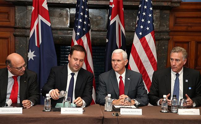 Australia y Estados Unidos instan a China a presionar a Corea del Norte