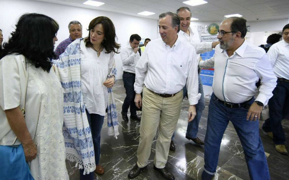 Meade llega a Acapulco, sostendrá encuentro con militantes del Partido Nueva Alianza