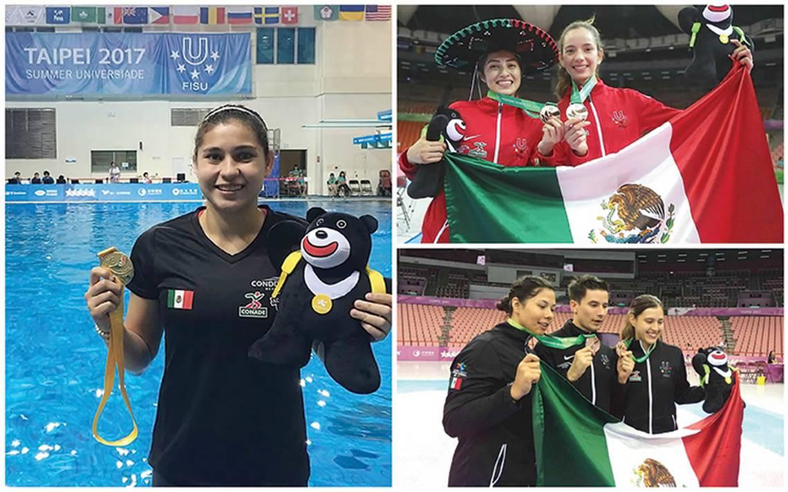 El contingente mexicana con una actuación histórica