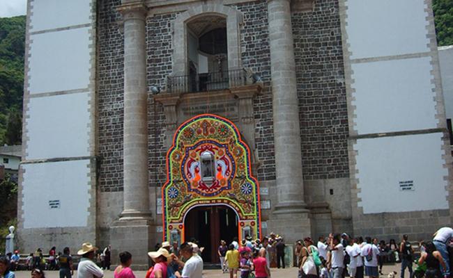 Se prepara Santuario de Chalma para Semana Santa