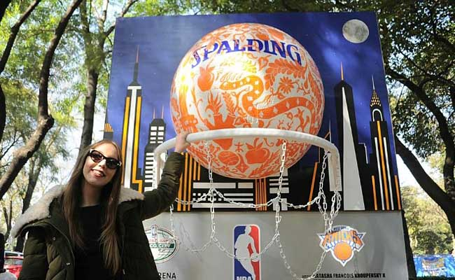 La NBA lleva arte urbano a Paseo de la Reforma