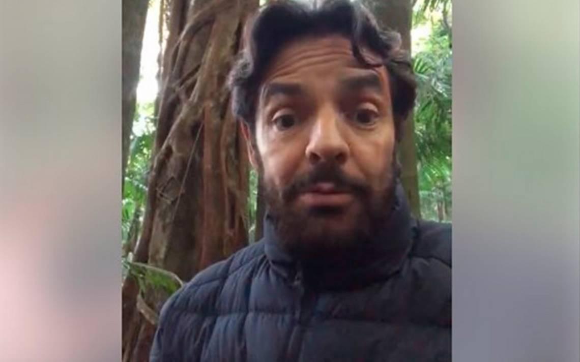 """[Video] Eugenio Derbez aterrado por ¡los """"árboles asesinos"""" en Australia!"""