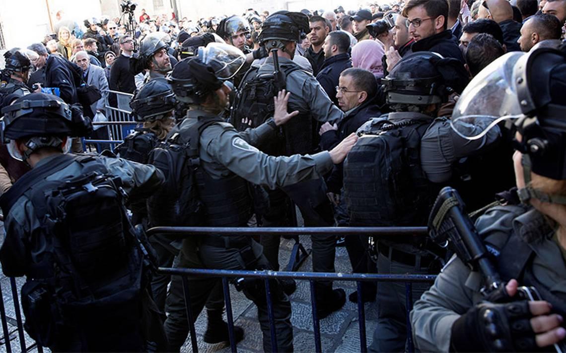 Tras protestas, reporta dos muertos y cien heridos en Cisjordania, Gaza y Jerusalén