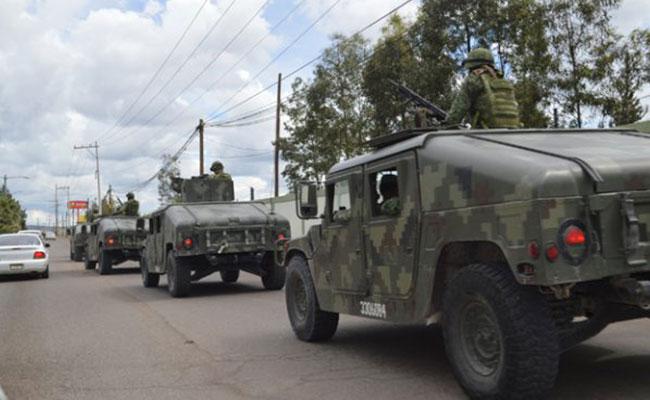 Enviamos más de 4 mil soldados, responde Federación a Corral