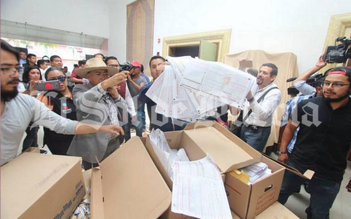 Morena exige conteo voto por voto en Puebla tras supuesto fraude electoral