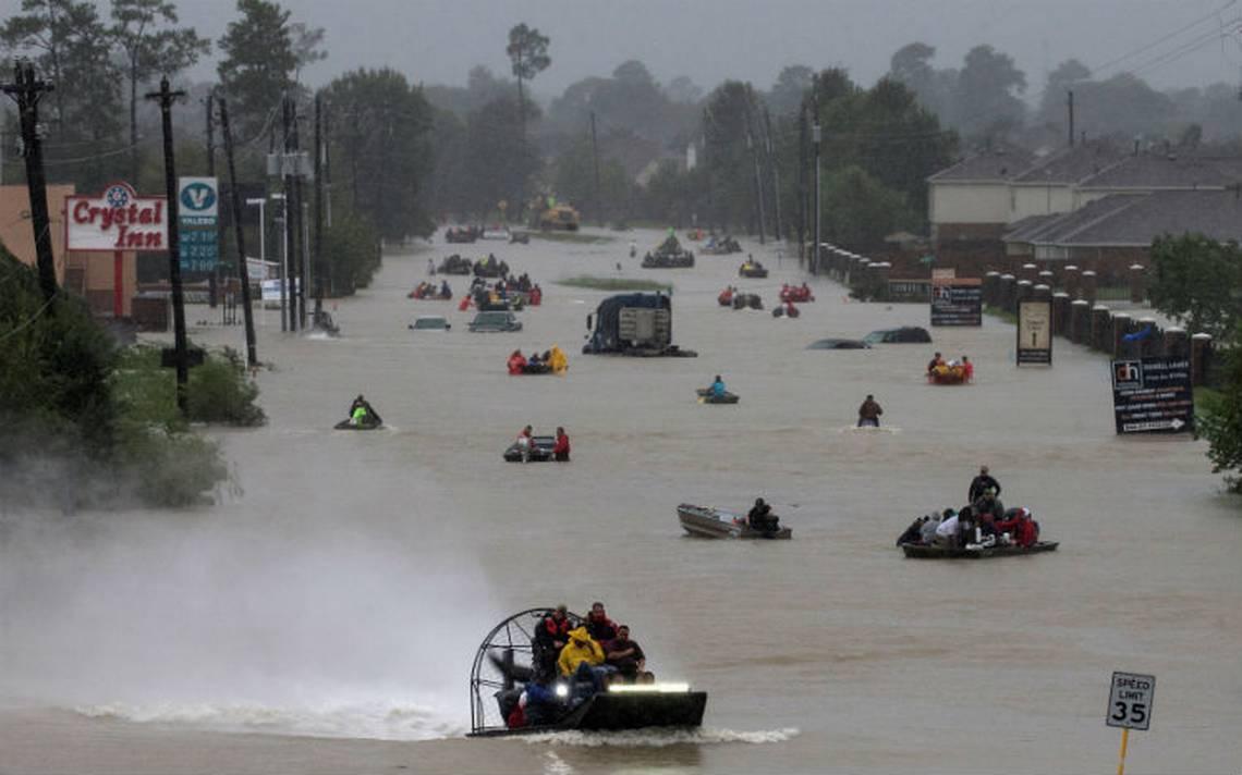 Estiman entre 36 y 50 mil mdd los daños por Harvey