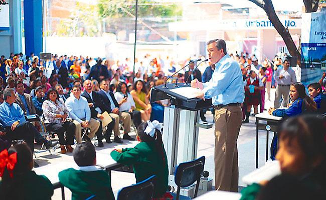 Impulsan en León la infraestructura educativa