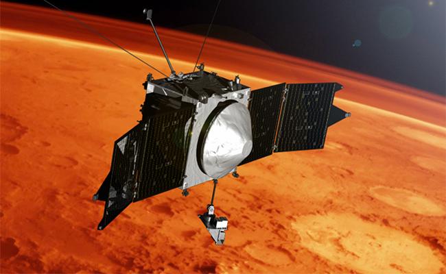 NASA descubre metal en atmósfera de Marte