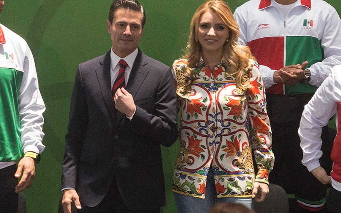 Peña Nieto manda emotivo mensaje a Angélica Rivera por su cumpleaños