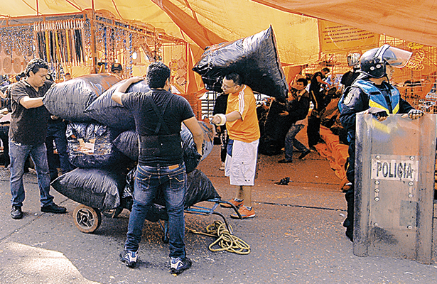 Vence plazo para desalojar el mercado Pino Suárez de Villahermosa