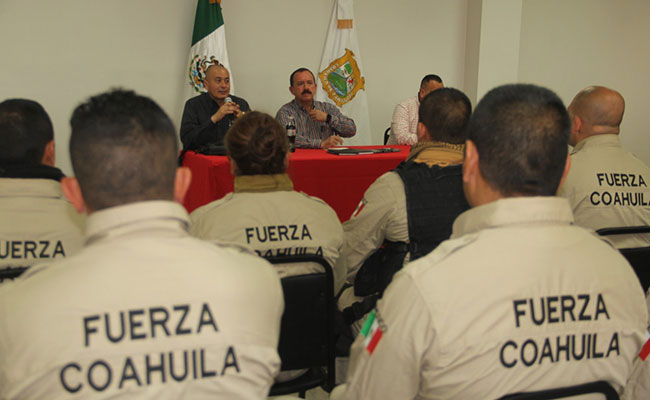 Delinea Coahuila estrategias de seguridad por regiones