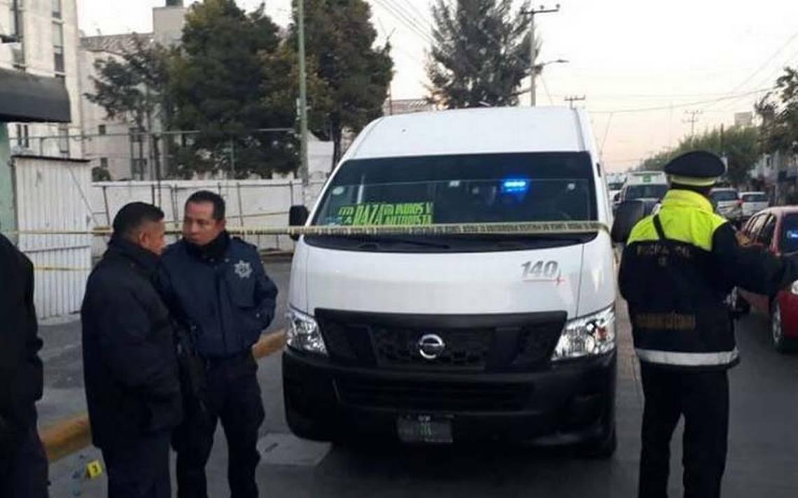 Pasajero de combi mata a presunto delincuente en Tultitlán