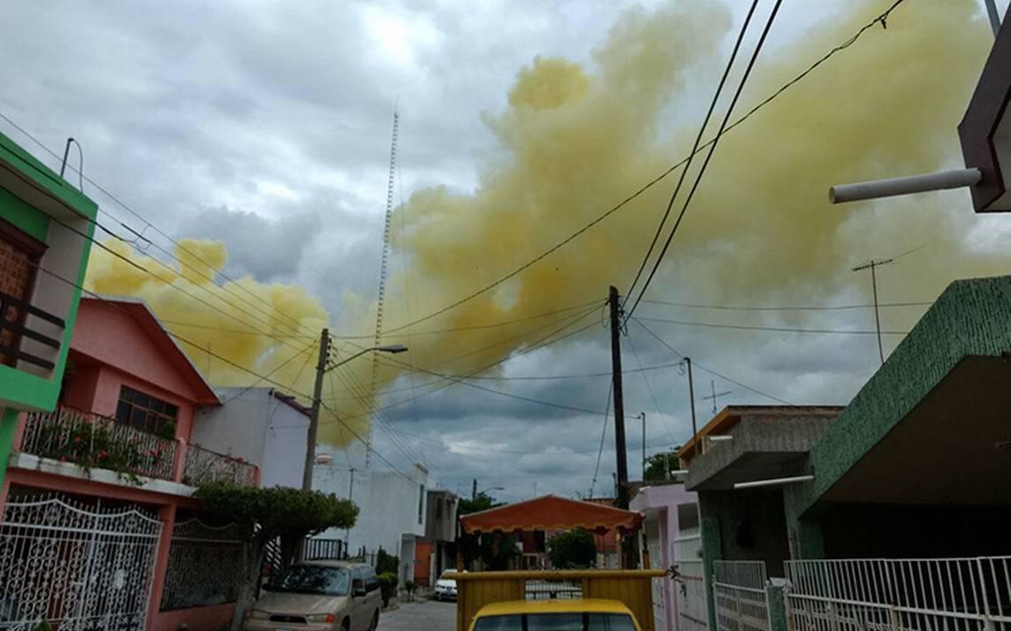 """Salamanca interpone denuncia por """"nube"""" amarilla de Pemex"""