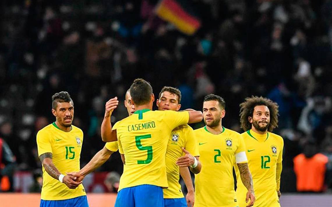 Brasil acaba con el invicto de Alemania de cuatro años sin perder