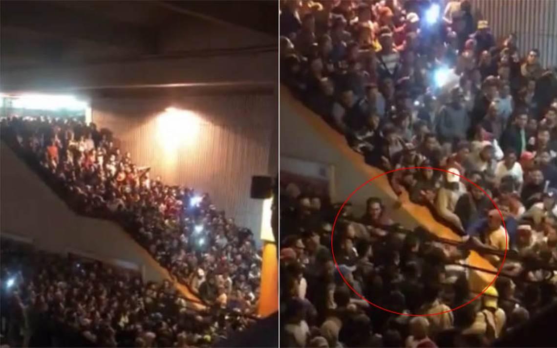 De andén a ring: discuten y se golpean en plena hora pico en Pantitlán
