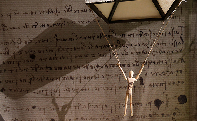 Artefactos de Da Vinci cobran vida en Bélgica