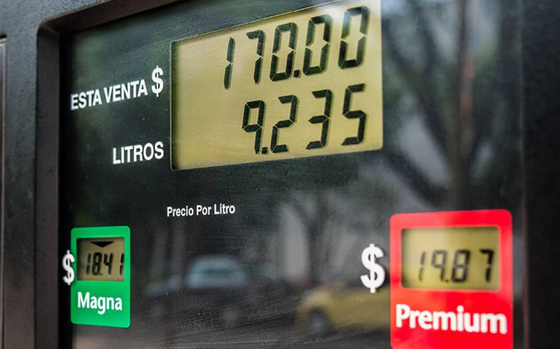 Hacienda estima que costo de la gasolina continuará al alza