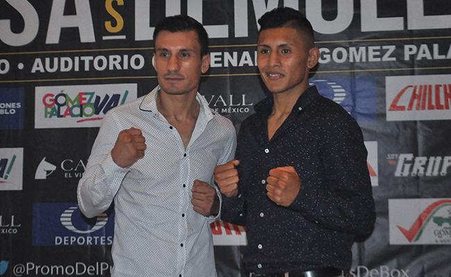 Los boxeadores Ortiz y Cruz quieren un título