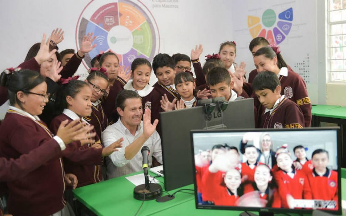 EPN inaugurará ciclo escolar por la tarde en CDMX