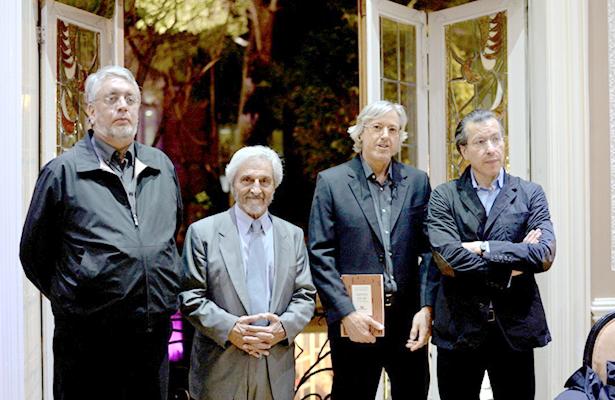 """Guillermo Roemmers presentó su libro """"España en mí y otros poemas"""""""