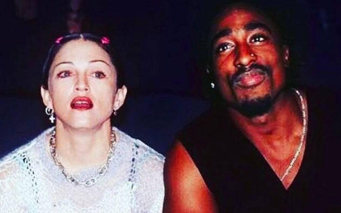 Te dejo por ser blanca: subastan la carta con la que terminó Tupac a Madonna