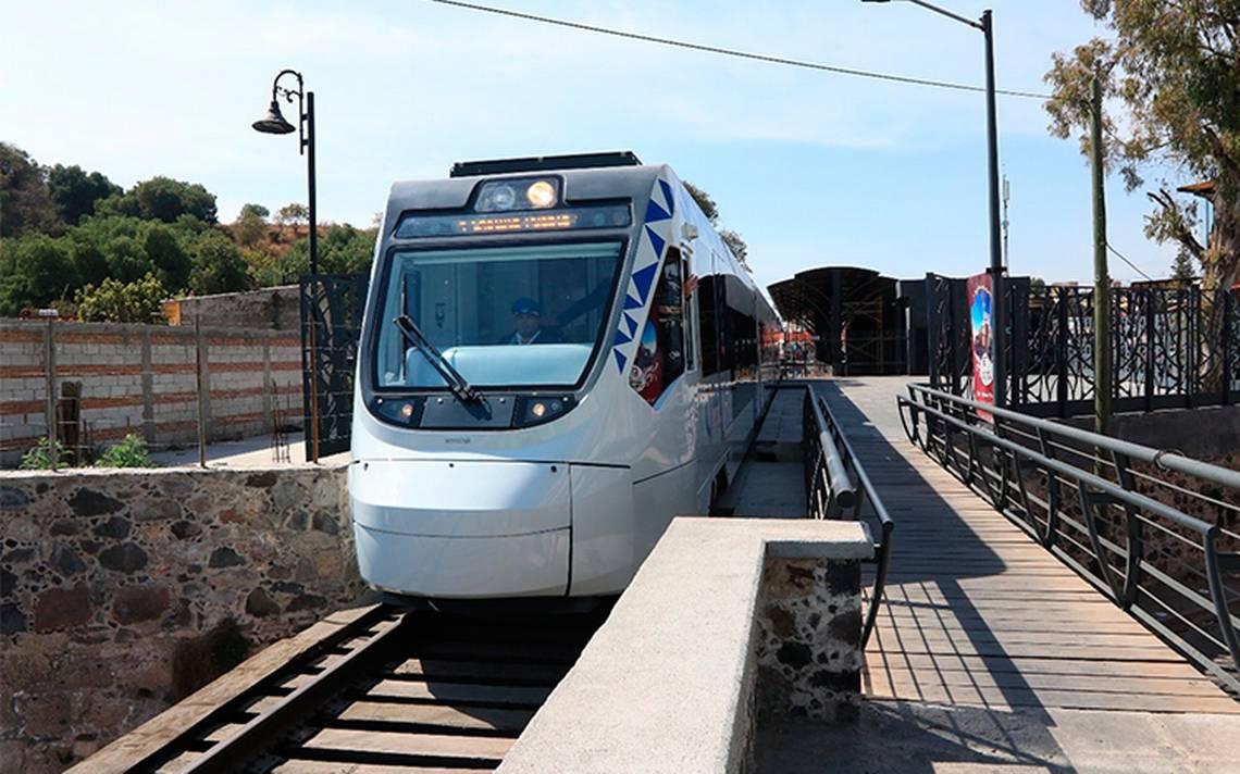 Tren Puebla-Cholula, solo una atracción para los viajeros