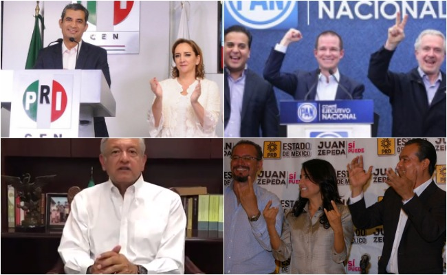 Anaya, Ochoa y AMLO declaran a sus candidatos sólidos ganadores