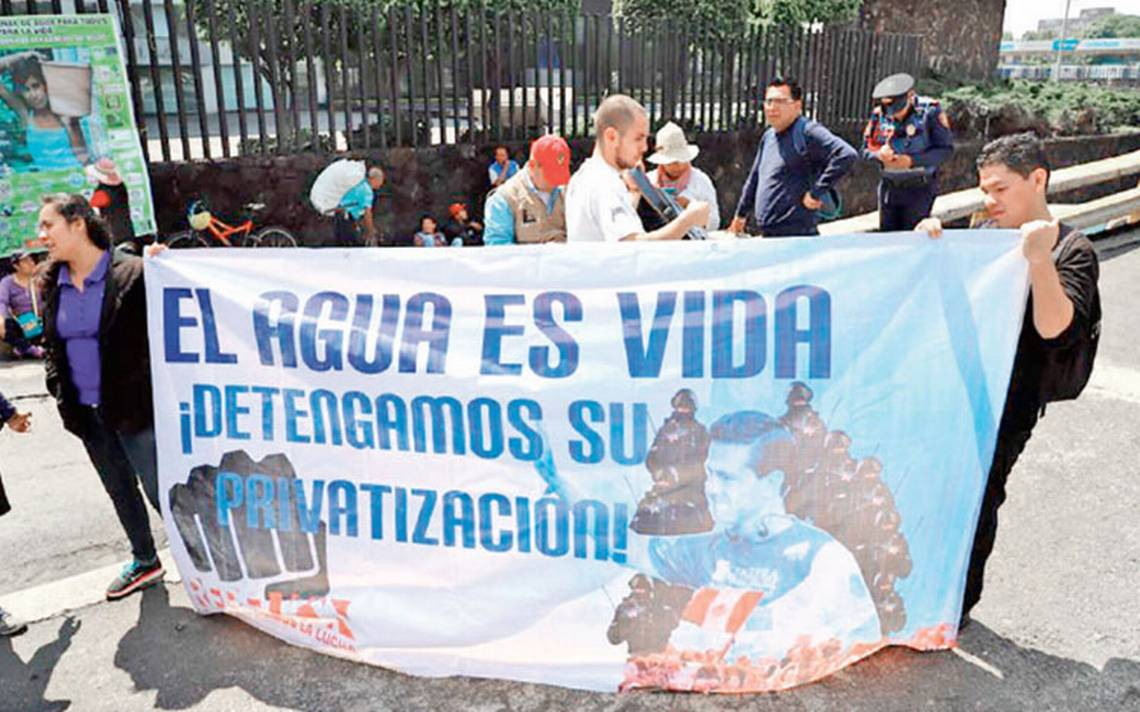 Organizaciones de todo el país exigen a la Conagua revertir decretos de agua