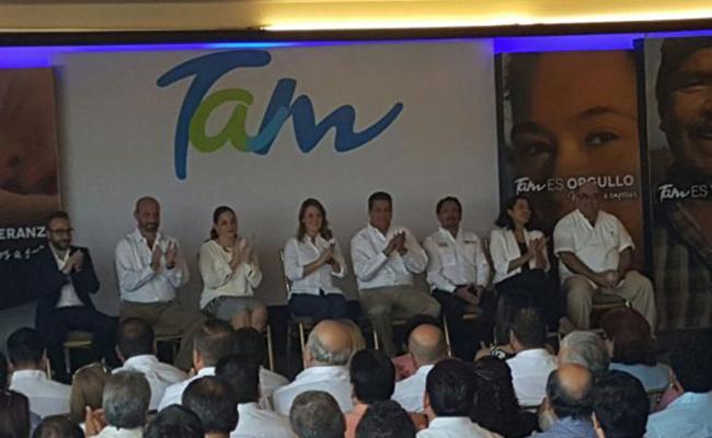 """El gobernador de Tamaulipas, Francisco Javier García, presenta la marca """"Tam"""""""
