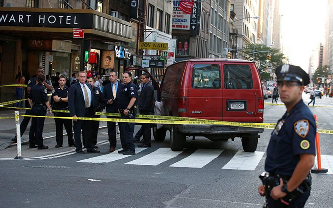 Múltiple atropello deja al menos 3 heridos en Manhattan
