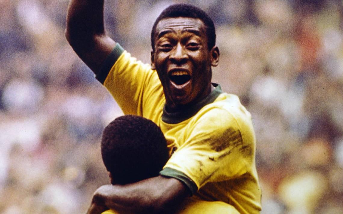 El camino del rey Pelé en los mundiales