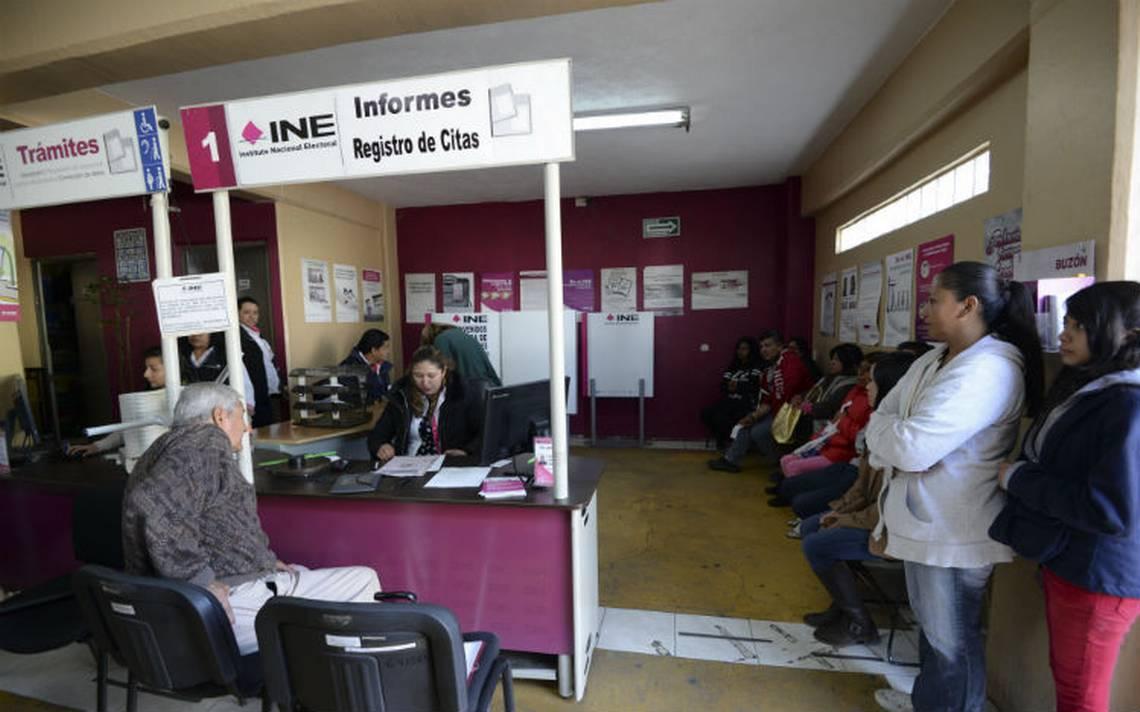 INE repuso 177 mil credenciales tras el sismo