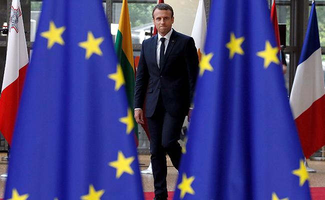 Macron espera crear con Merkel fuerte dinámica para resucitar a la Unión Europea