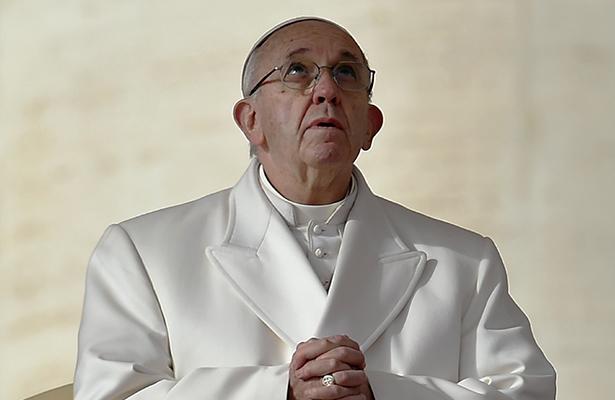 """Teme el Papa una """"tercera guerra mundial"""" por acceso al agua potable"""