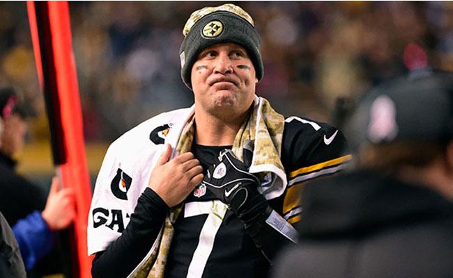 Roethlisberger pone en duda su futuro con los Steelers