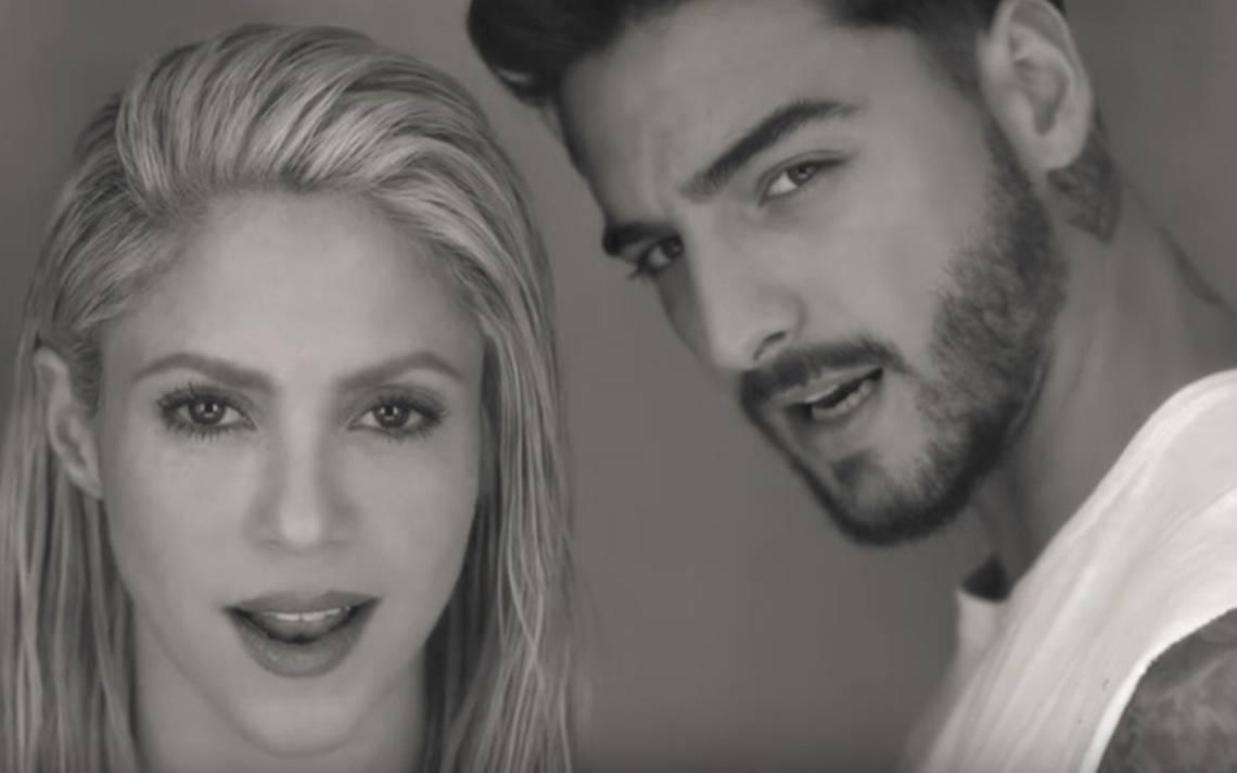 """Shakira y Maluma hacen clic en video de """"Trap"""""""