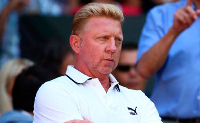 Famoso extenista alemán Boris Becker, en bancarrota