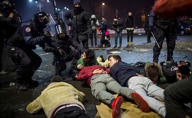 Rumania vive las mayores protestas desde la caída del comunismo en 1989