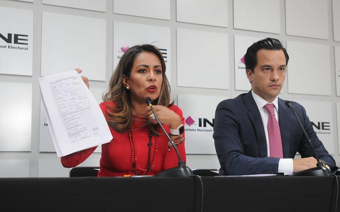 PRI exhorta al INE negarle constancia a Nestora Salgado si gana elecciones