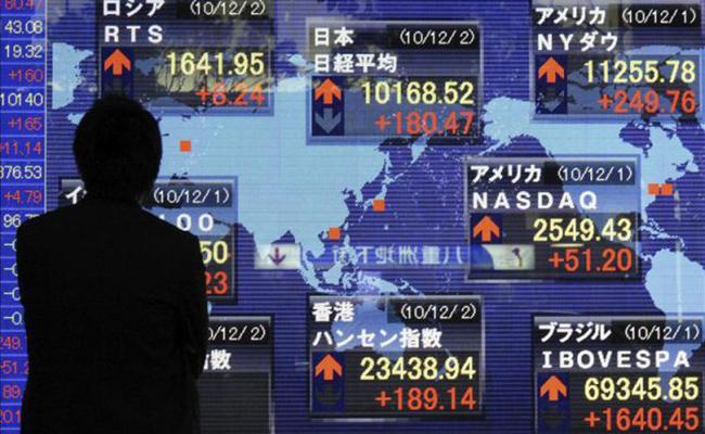 Cae la Bolsa de Tokio ante débiles datos del crecimiento de Estados Unidos