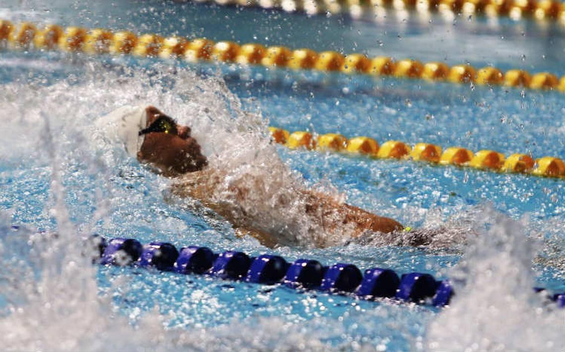 Byanca Rodríguez y Miguel De Lara imponen récords en natación en Barranquilla 2018