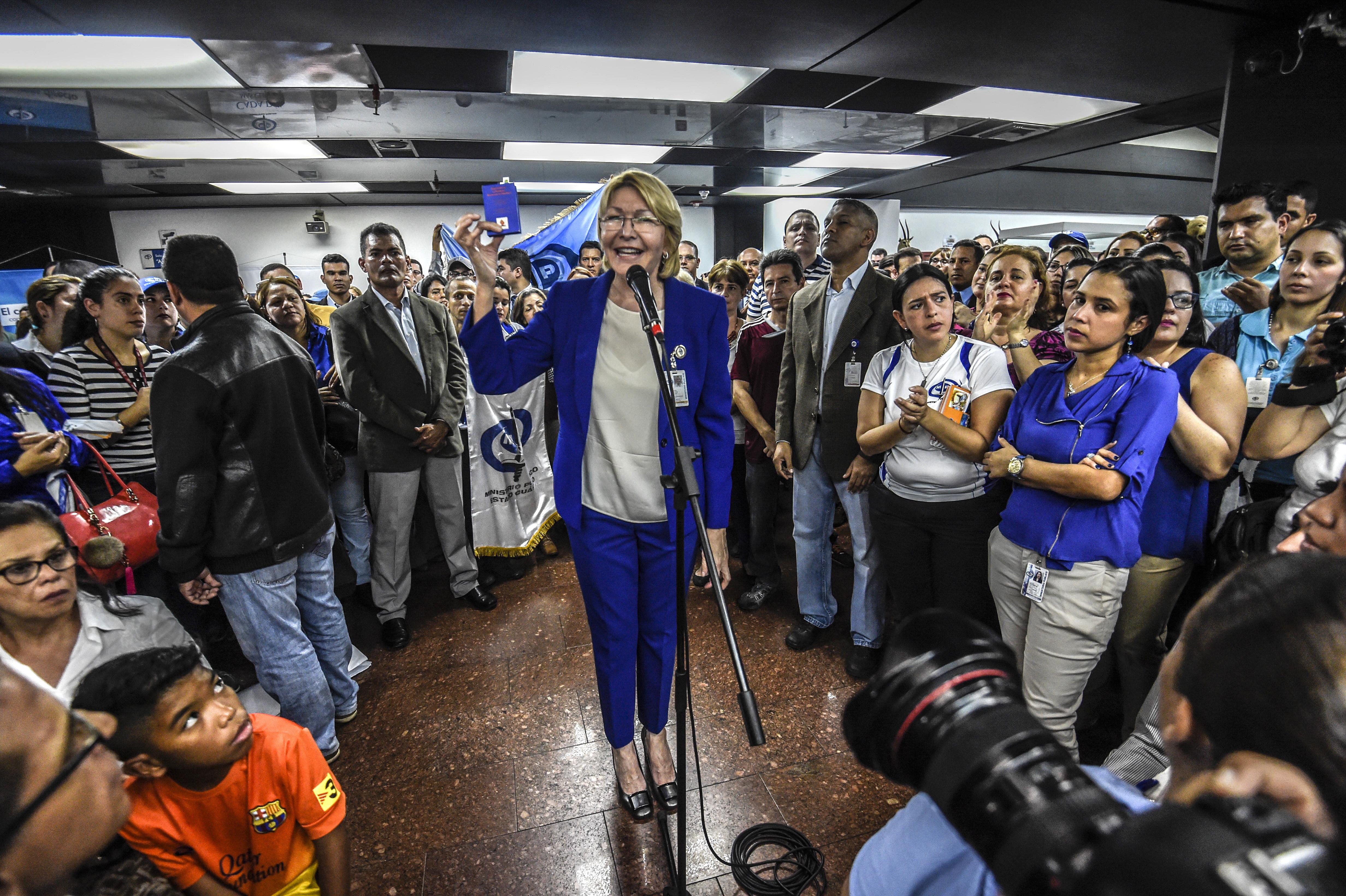 Tribunal Supremo autoriza proceso para enjuiciar a fiscal general de Venezuela