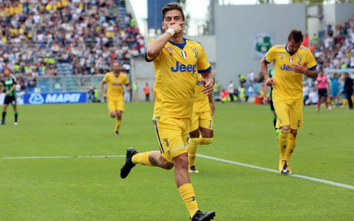 Con triplete, Dybala festeja 100 partidos con Juventus