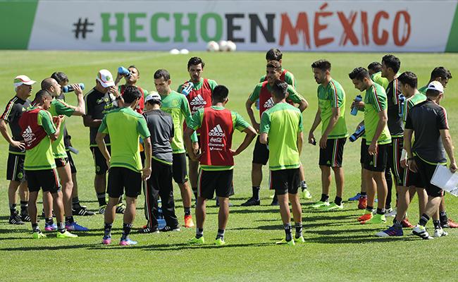 El Tricolor comprometido para vencer a Costa Rica